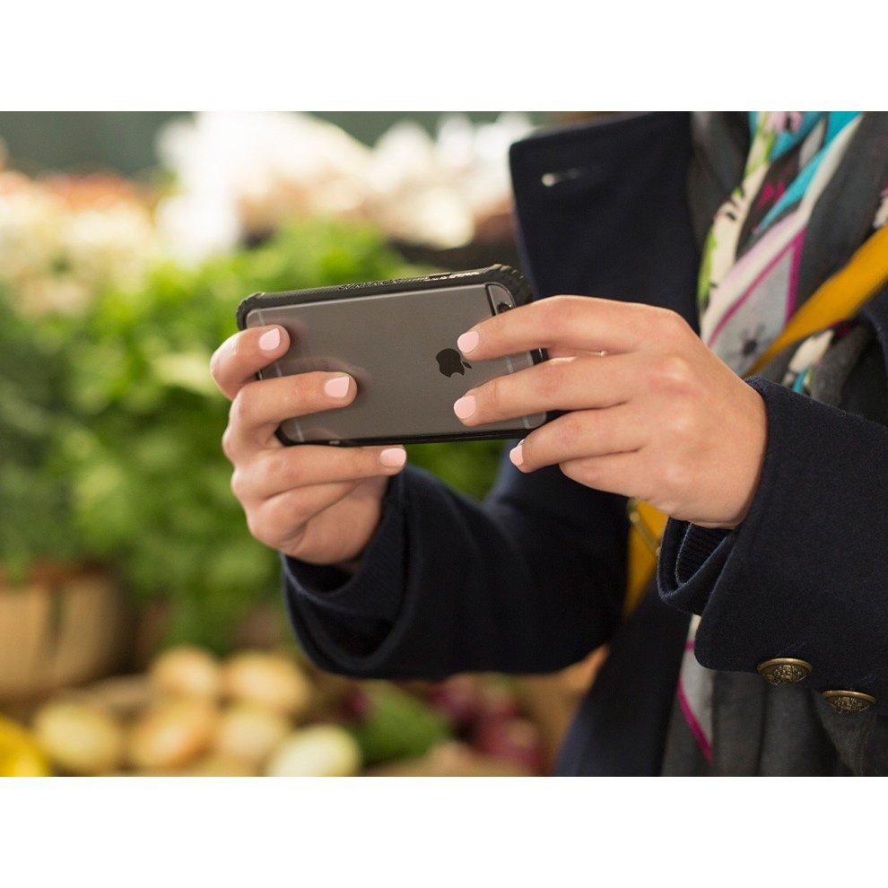 sale retailer f175a 2354b Griffin Survivor Core Case for iPhone 6 - Violet/Transparent