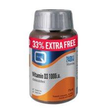 Quest  Vitamin D 1000Iu - Extra Fill 180 60s