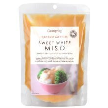 Clearspring Organic Sweet White Miso Pouch 250g