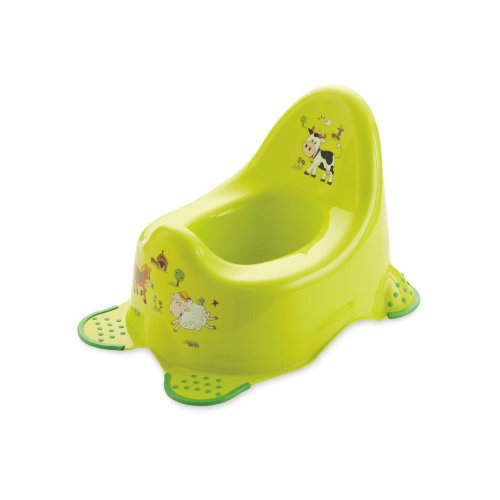OKT Kids Funny Farm Toilet Training Potty With Safety Grip Feet