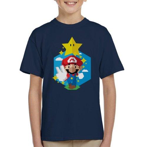 Here We Go Super Mario Kid's T-Shirt