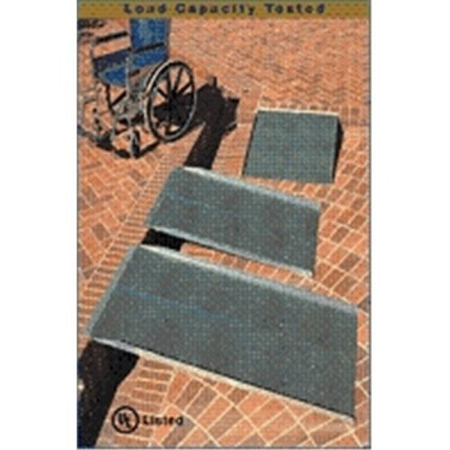 3-ft x 36-in Portable Solid Wheelchair Ramp 800 lb. Weight Capacity  Maximum 6-in Rise
