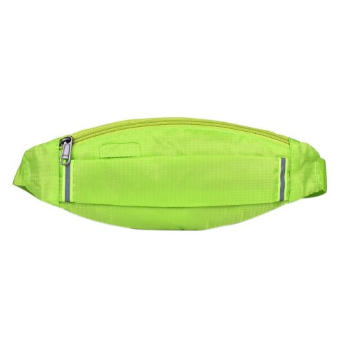 Outdoor Sports And Leisure Large Capacity Fashion Waist Bags, Bright Green