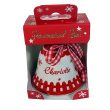 Holly Christmas Bell