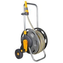 Hozelock Assembled Hose Reel Cart 60 m with 30 m Hose 2434R0000
