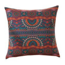 Concise Style Flowering Plant Throw Pillow Cushion Fashion Back Cushion Cover K