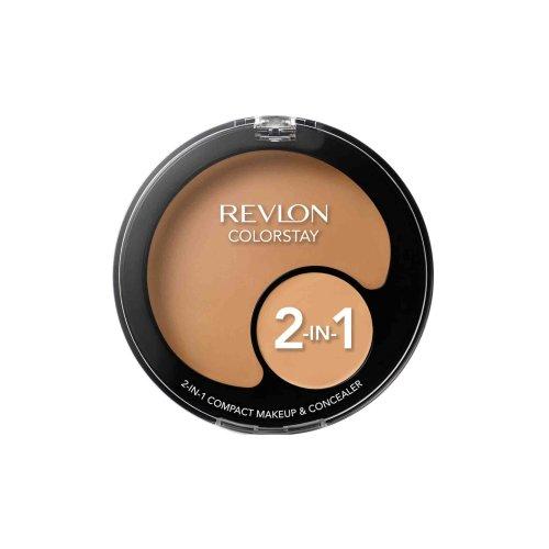 Revlon Colorstay 2 in 1 Compact Makeup and Concealer 11g Sand Beige #180
