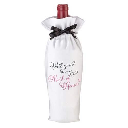 Will you be my Maid of Honor Wine Bag