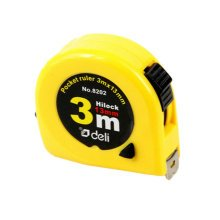 Tape Measure with End Hook, Metric,3m/9.8 Ft