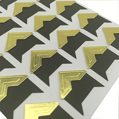 Self Adhesive Photo Corners Pack Of 240 Gold