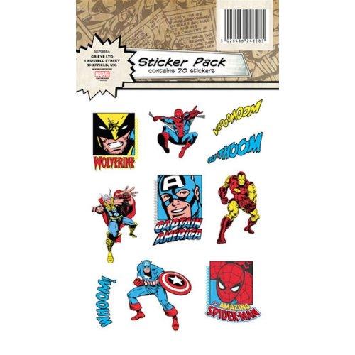 Avengers Vinyl Sticker Pack