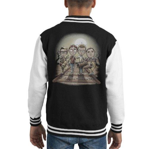 Stand By Me Railroad Kid's Varsity Jacket