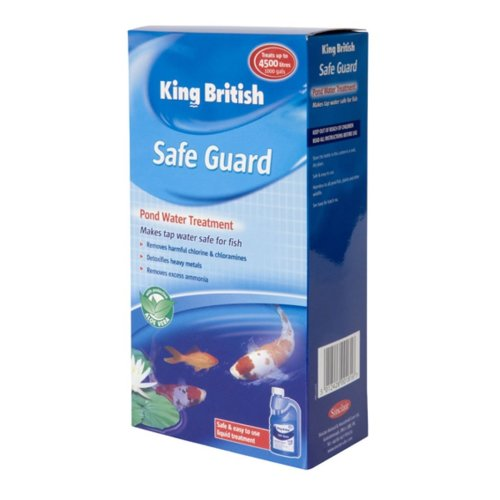 King British Pond Safe Guard (de Chlorinator) 250ml