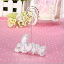Wedding Party Table Place Name Number Menu Photo Card Love Clip Stand Holder