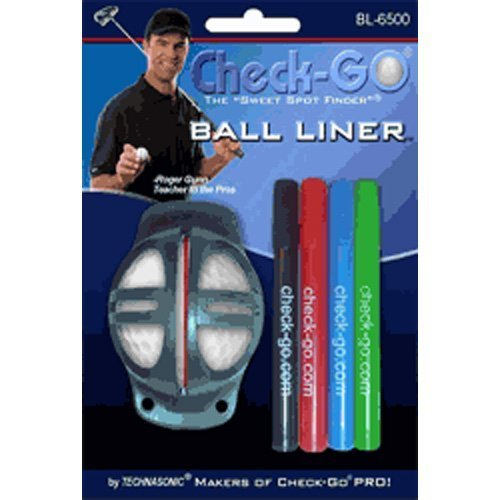 Technasonic Check-Go Ball Liner with 4 Colored Pens