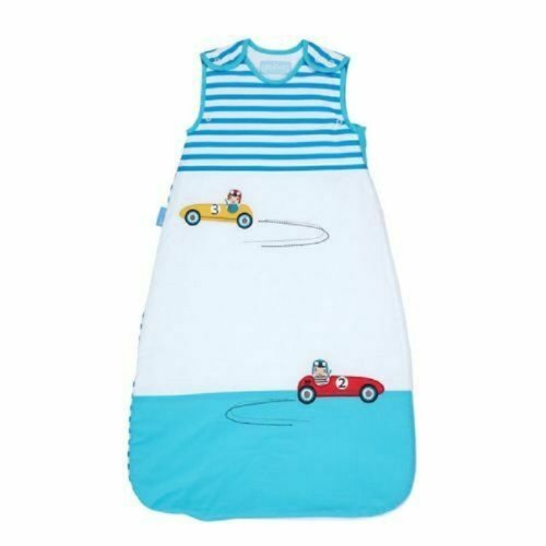The Gro Company Blue Cars 2.5 tog - 0-6 Months