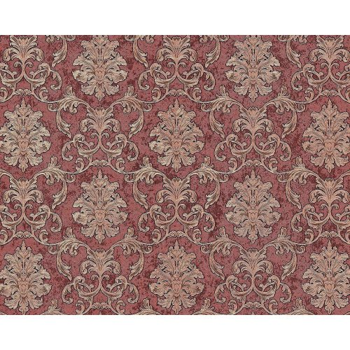 EDEM 6001-94 Baroque non-woven wallcovering glittering red copper 10.65 sqm