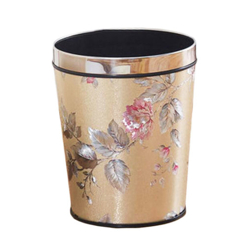 Large Size Fashion Kitchen Trash Can Home/Office Trash Bin With No Cover-01