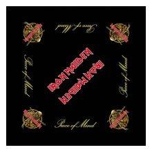 Iron Maiden Piece Of Mind Bandanas/ Biker Kopftuch -  iron maiden piece mind official bandana new 22in logo black x 100 licensed product