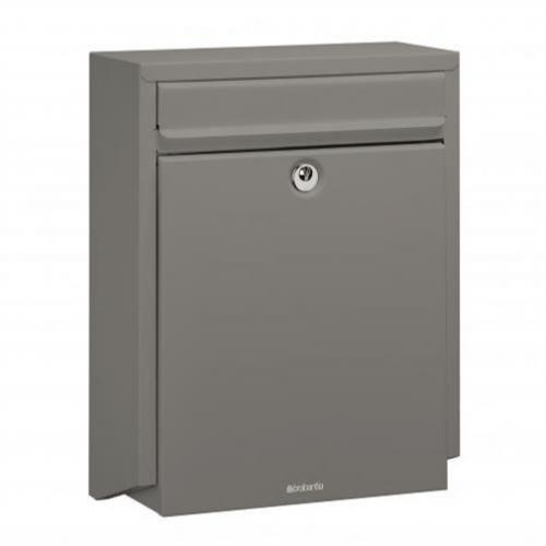 Brabantia B100 Post Box - Quartz Grey