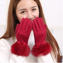Touch Screen Solid Texting Gloves