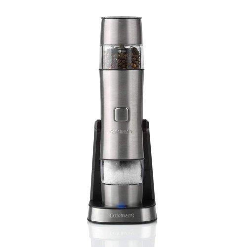 Cuisinart Rechargeable Electric 2 in 1 Salt & Pepper Seasoning Mill SG6U