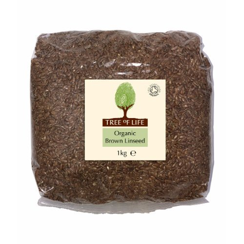 Tree Of Life  Organic Linseed - Brown 1kg x 6