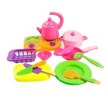 Little Girl Doll House Simulation Toys Children Kitchen Playsets Mini Cooking