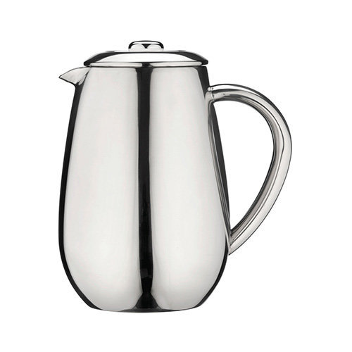 Grunwerg Cafe Ole Everyday Cafetiere Stainless Steel Coffee Maker 3 Cup EFD-03