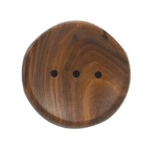 Brown Natural Wooden Soap Holder Soap Dishes Creative Soap Box