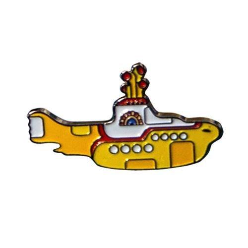 The Beatles Yellow Submarine Enamel Keyring