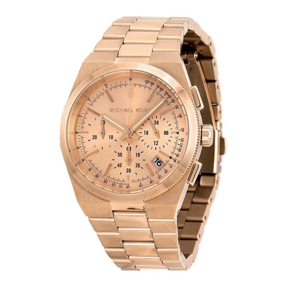 Michael Kors Channing Ladies Chronongraph Watch Gold Bracelet MK5927