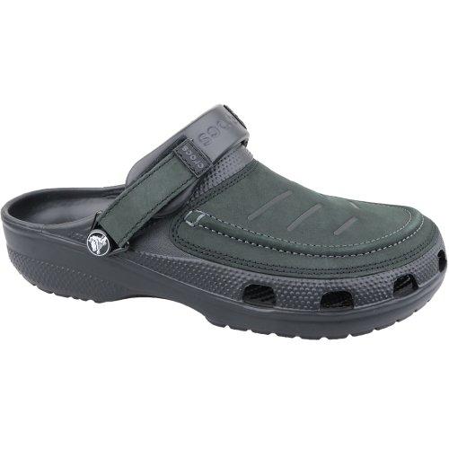 Crocs Yukon Vista Clog 205177-060 Mens Black slides