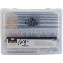essentials(TM) Clear View Art Set-Acrylic Painting