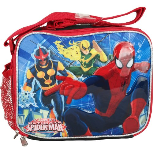 Lunch Bag - Marvel - Ultimate Spiderman - Attack Boys Case New 658182