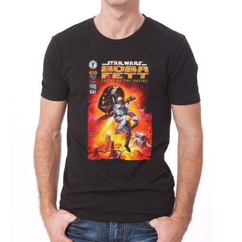 Star Wars Adults Unisex Adults Fett Enemy Comic Design T-Shirt