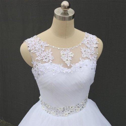 Double Shoulder Lace Up Ball Wedding Dresses 2016 Vintage Plus Size Bridal Dress Wedding Gown FSM-027F