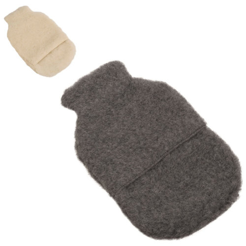 Lambland Super Soft Genuine Merino Lambswool Hot Water Bottle Cover
