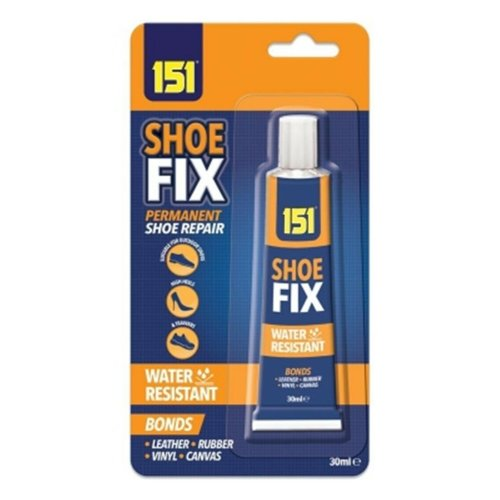 SHOE GLUE GOO CLEAR 30ML GLUE-TRAINERS & ALL SHOE REPAIRS WATER RESISTANCE