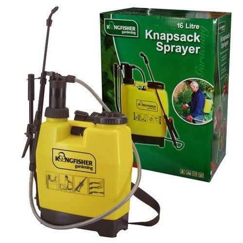 Kingfisher PS4016 Pump Action Knapsack Backpack Pressure Sprayer 16 Litre