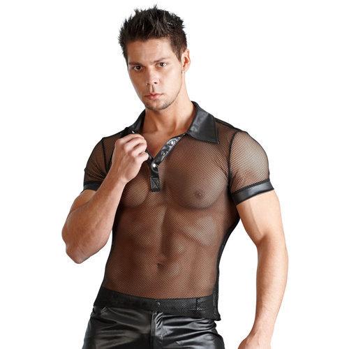 Men's shirt Wetlook Small Men's Lingerie Shirts - Svenjoyment Underwear