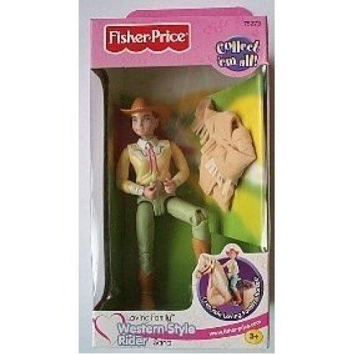 Fisher Price Loving Family Dollhouse Western Rider Sara