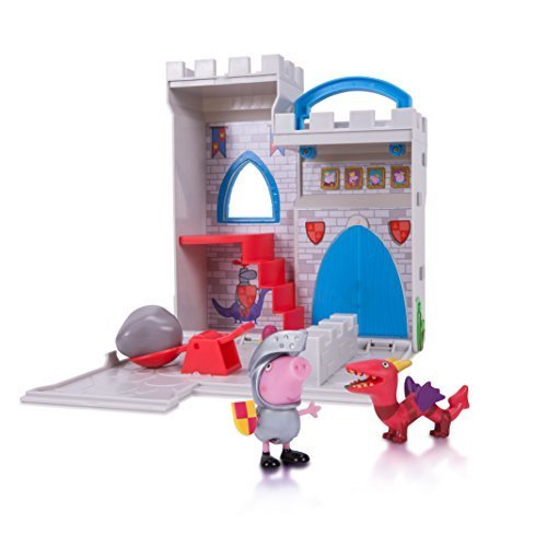 Peppa Pig Castle Fort Little Places Playset