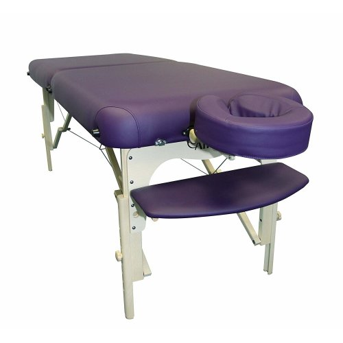 AFFINITY Deluxe Massage Table (Purple)