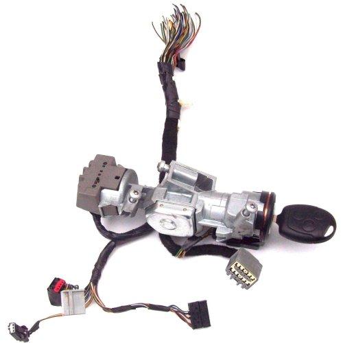 Ford Focus C Max Ignition Lock Barrel + Key + Wiring Loom Plugs 3M51-3F880-AC