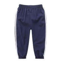 Comfortable Soft Children's Trousers, Royal Blue And White