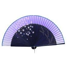 Elegant Hand Fan Portable Folding Fan Carved Handheld Fan Chinese Fans #02