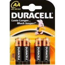 Duracell AA LR6 Alkaline 1.5V non-rechargeable battery