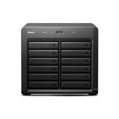 Synology DX1215 Desktop Black disk array
