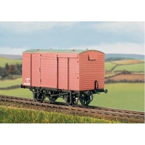 OO wagon kit - LMS 12t Box Van 1934-1944 (plank body) - Ratio 572 - free post